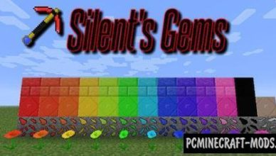 silents gems new ores mod for minecraft 1 17 1 1 16 5