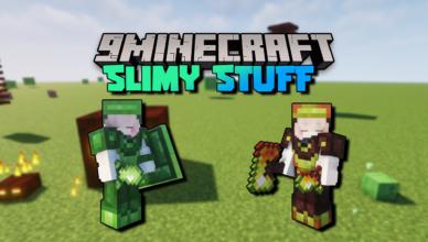 slimy stuff mod 1 16 5 slime armors
