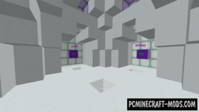sprint lab re run map for minecraft