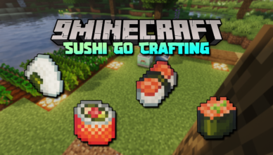 sushi go crafting mod 1 16 5 edible japan