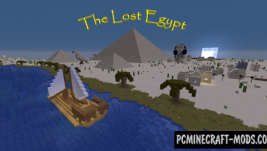 the lost egypt map for minecraft