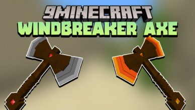 the windbreaker axe data pack 1 17 1 powerful weapons