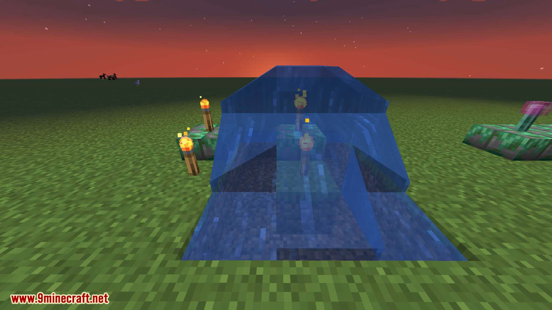 Torch Slabs Mod for minecraft 09