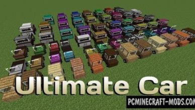 ultimate car vehicles mod for mc 1 17 1 1 16 5 1 12 2