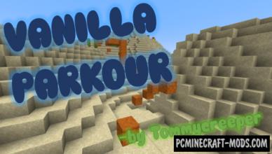 vanilla parkour map for minecraft