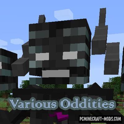 Various Oddities - Custom Mob Models Mod MC 1.16.5, 1.12.2