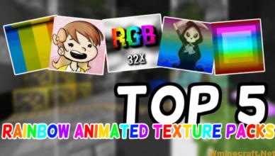 1 15 2 1 8 9 animated rainbow pvp resource pack