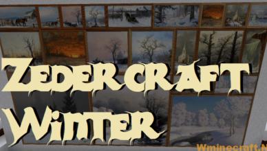 1 16 5 1 15 2 zedercraft winter resource pack 128x 256x