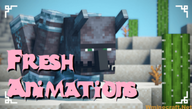 1 17 1 16 fresh animations resource pack