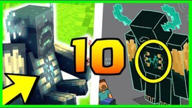 10 secrets en exclu sur le warden minecraft 1 17