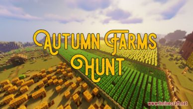 autumn farms hunt map 1 17 1 for minecraft