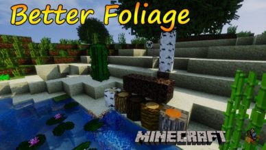 better foliage mod for minecraft 1 17 1 1 16 5 1 15 2 1 14 4