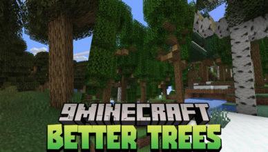 better trees data pack 1 17 1 tree generation