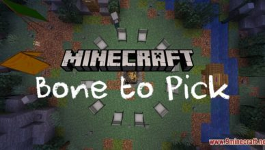 bone to pick map 1 17 1 for minecraft
