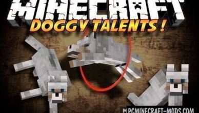 doggy talents creature mod for minecraft 1 16 5 1 12 2
