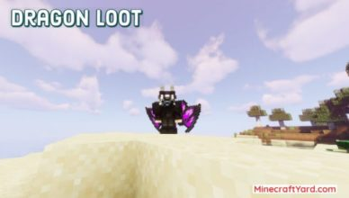 dragon loot mod 1 17 1 1 16 5 for armor and anvil minecraft