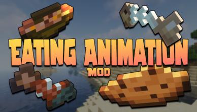 eating animation mod 1 17 1 animation food consume