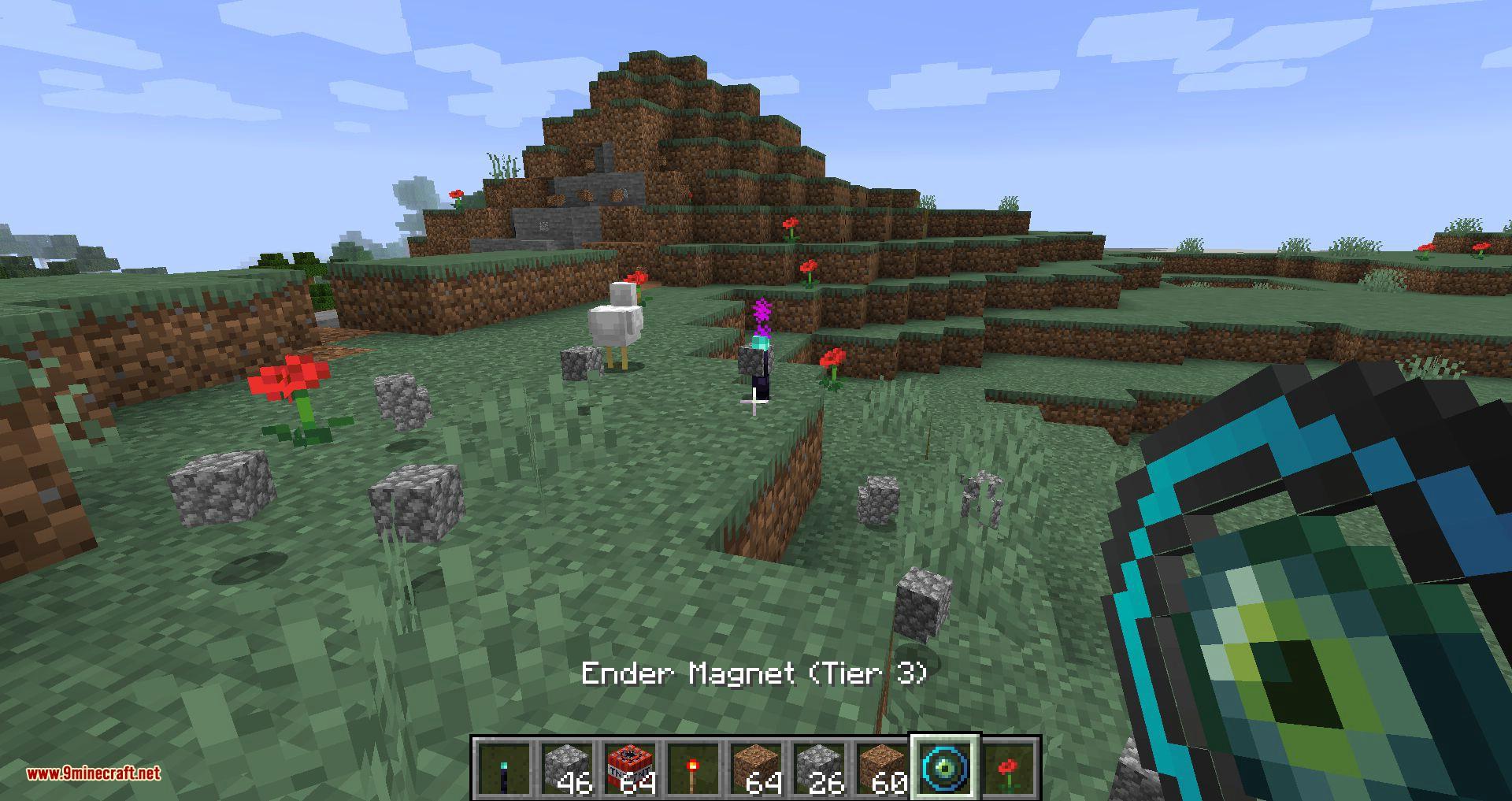 Ender Magnet mod for minecraft 11
