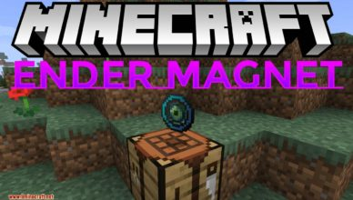 ender magnet mod 1 17 1 1 15 2 pull nearby items to the player