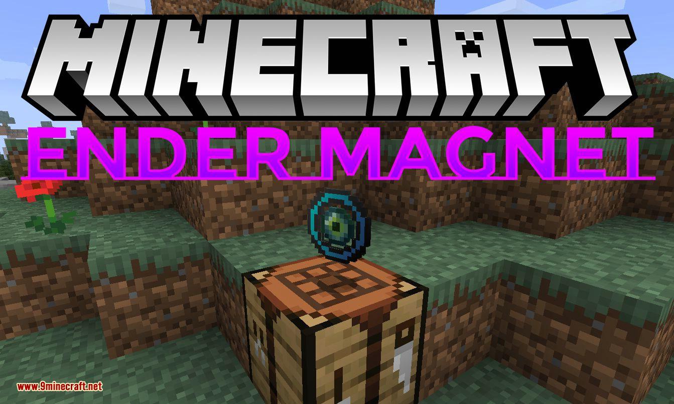 Ender Magnet mod for minecraft logo