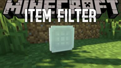item filter mod 1 16 5 1 15 2 advanced filtering items
