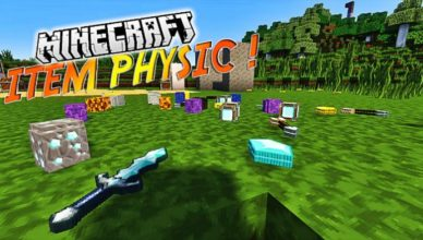 itemphysic mod for minecraft 1 17 1 1 16 5 1 15 2 1 14 4