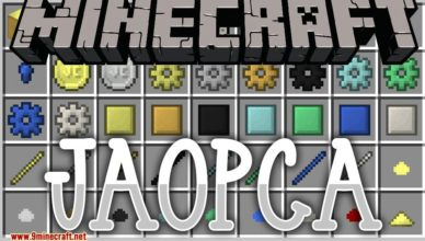 jaopca mod 1 17 1 1 16 5 just a ore processing compatibility attempt
