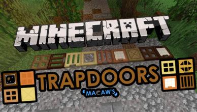 macaws trapdoors mod 1 17 1 1 16 5 new trapdoors