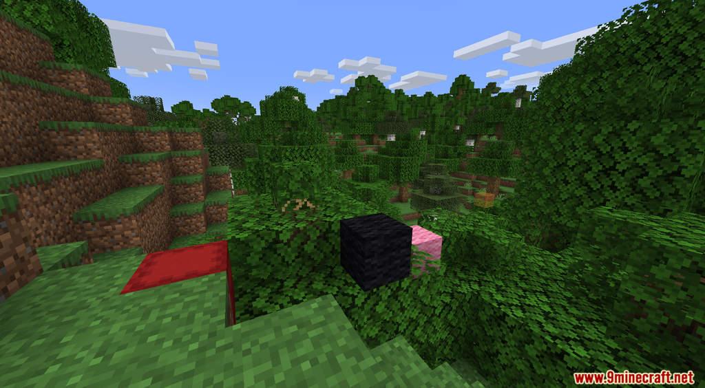 Minecraft But It's Raining Random Blocks Data Pack Screenshots (3)