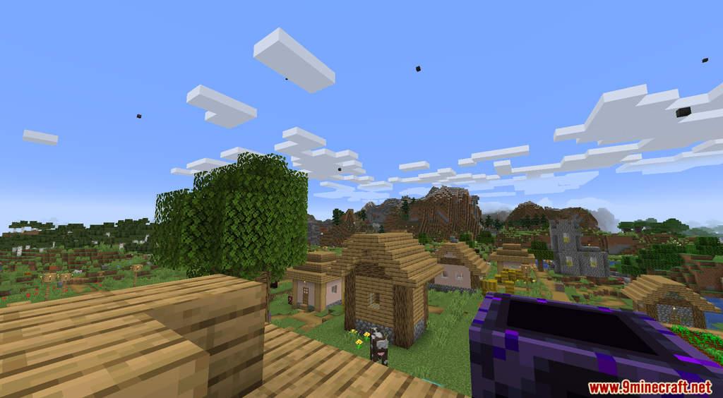 Minecraft But It's Raining Random Blocks Data Pack Screenshots (7)