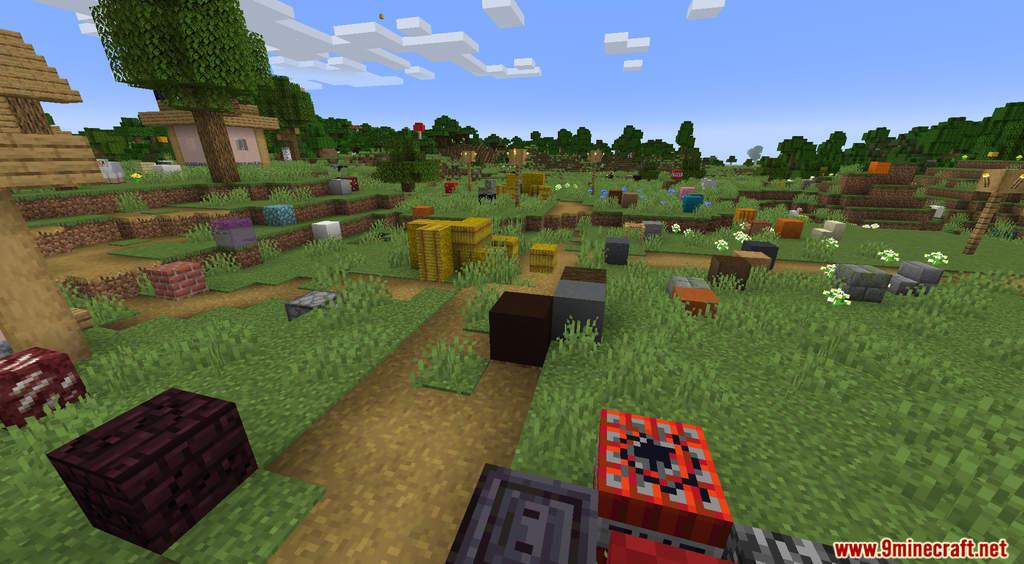 Minecraft But It's Raining Random Blocks Data Pack Screenshots (8)