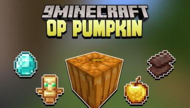 minecraft but pumpkin drops op items data pack 1 17 1 1 16 5 op pumpkin