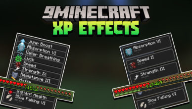 minecraft but xp equal effects data pack 1 17 1 1 16 5 experience effects