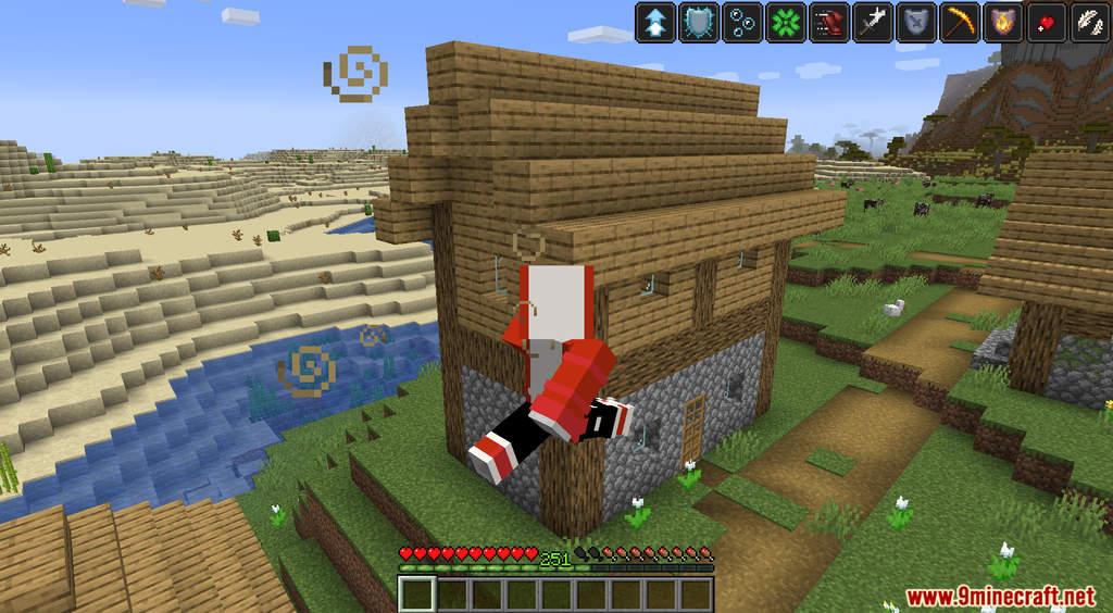 Minecraft But XP Equal Effects Data Pack Screenshots (5)
