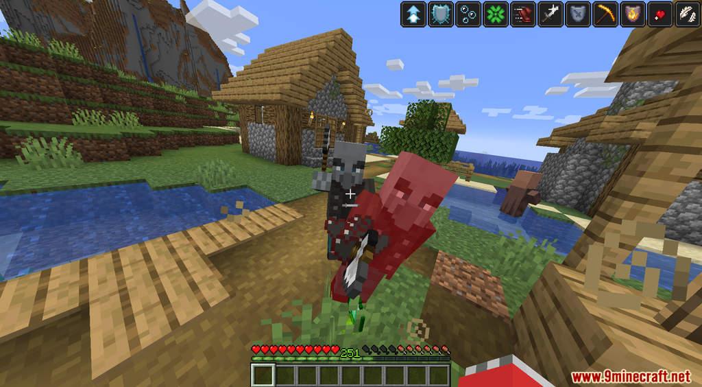 Minecraft But XP Equal Effects Data Pack Screenshots (6)