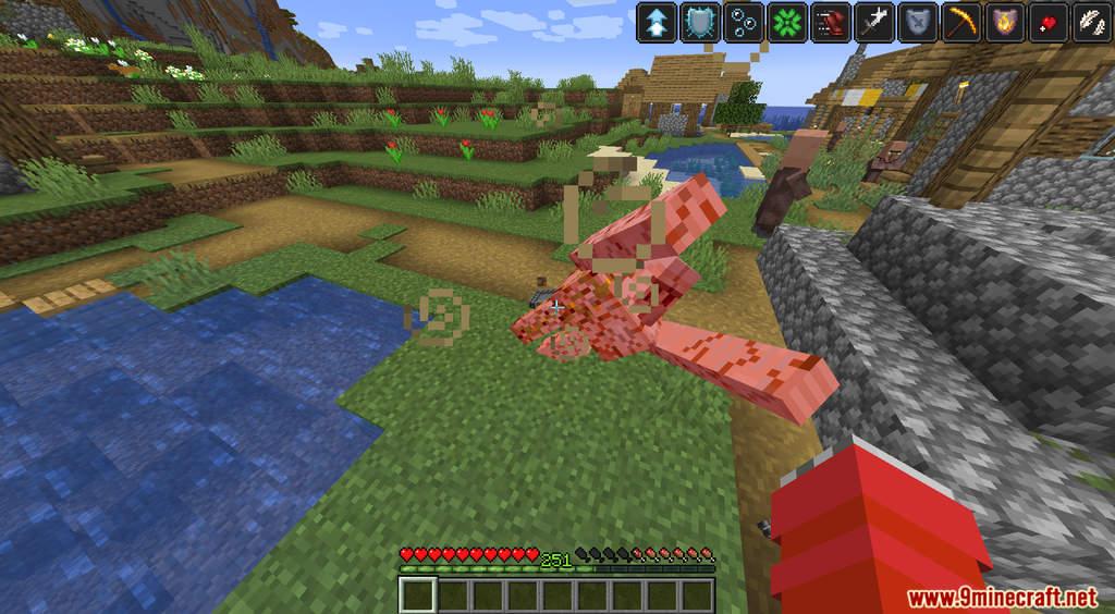 Minecraft But XP Equal Effects Data Pack Screenshots (7)
