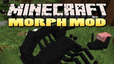 morph mod for minecraft 1 17 1 1 16 5 1 15 2 1 14 4