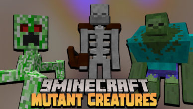 mutant creatures data pack 1 17 1 deadly mobs