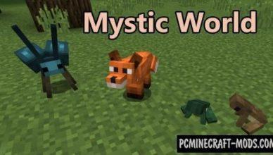 mystic world new creatures mod minecraft 1 16 5 1 12 2
