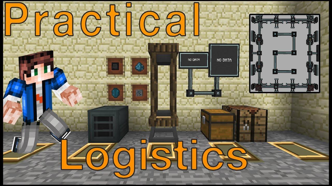 Practical Logistics 2 Mod Logo