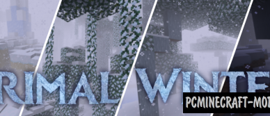 primal winter new biome mod for minecraft 1 16 5 1 16 4