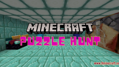 puzzle hunt map 1 17 1 for minecraft