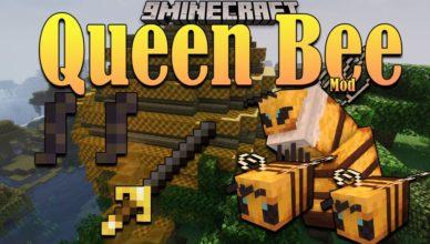queen bee mod 1 16 5 boss entity