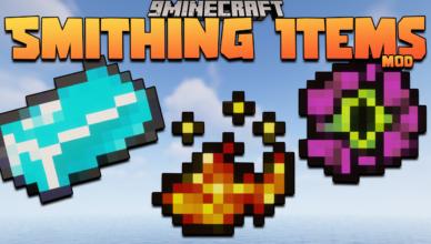 smithing items mod 1 16 5 ingots