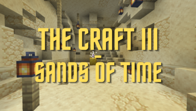 the craft iii sands of time map 1 17 1 for minecraft