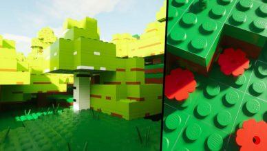 turn minecraft into a lego game with minebricks