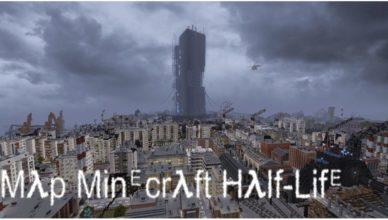 une map half life 2 sur minecraft 1 16