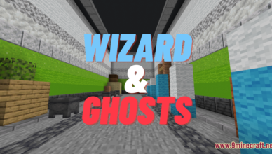 wizard and ghosts map 1 17 1 for minecraft