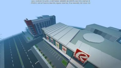 young teenager recreates entire mall in minecraft