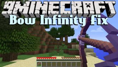 bow infinity fix mod 1 17 1 1 16 5 for minecraft